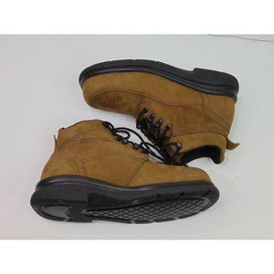Red Wings Mens 7.5 Brown Suede Leather Boots Work Outdoor Rugged